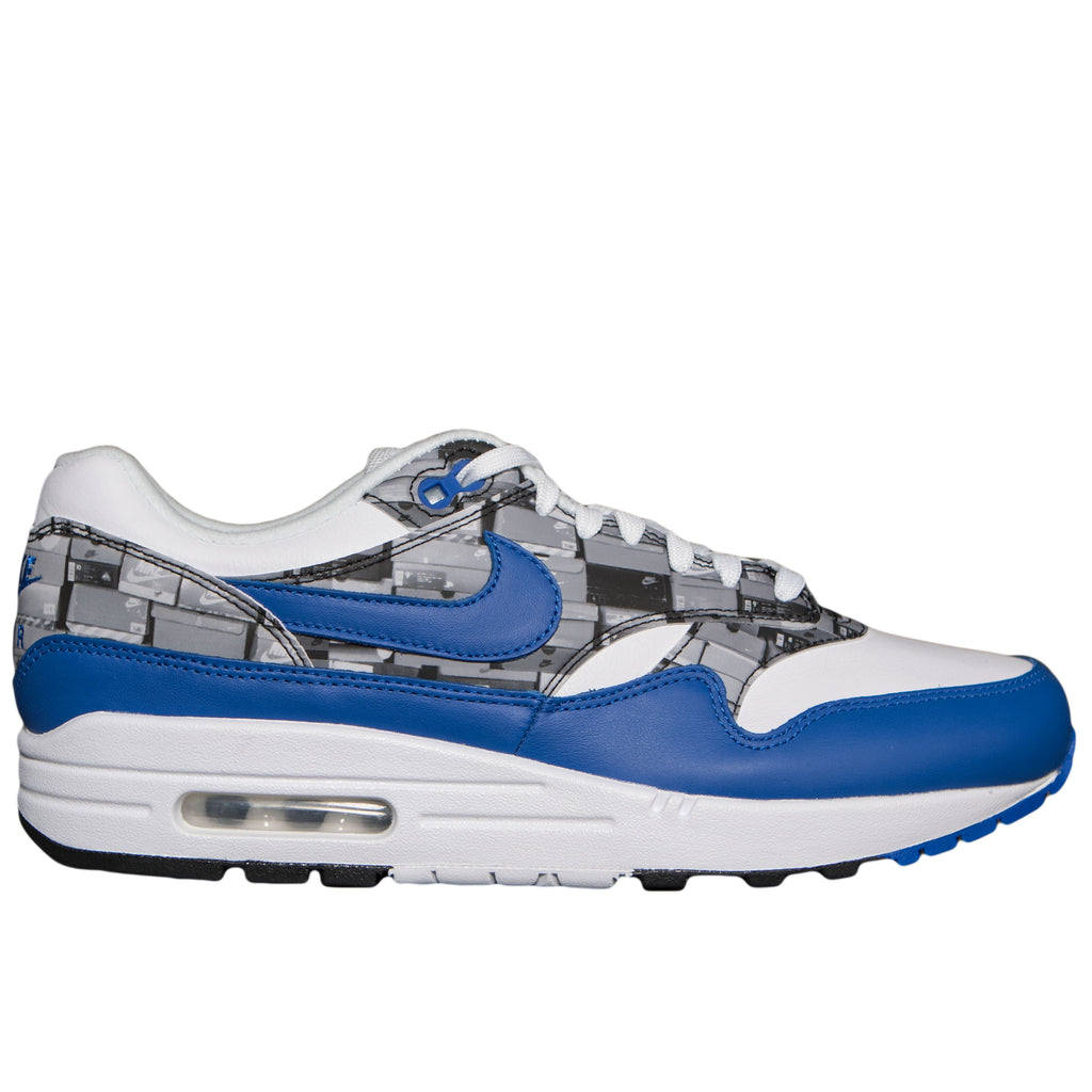 "Nike Air Max 1 PRNT ""We Love Nike"" (White/Game Royal)"