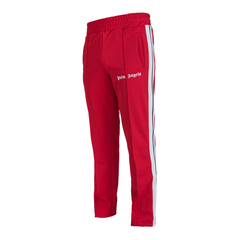 Palm Angels Classic Track Pants, Red/White