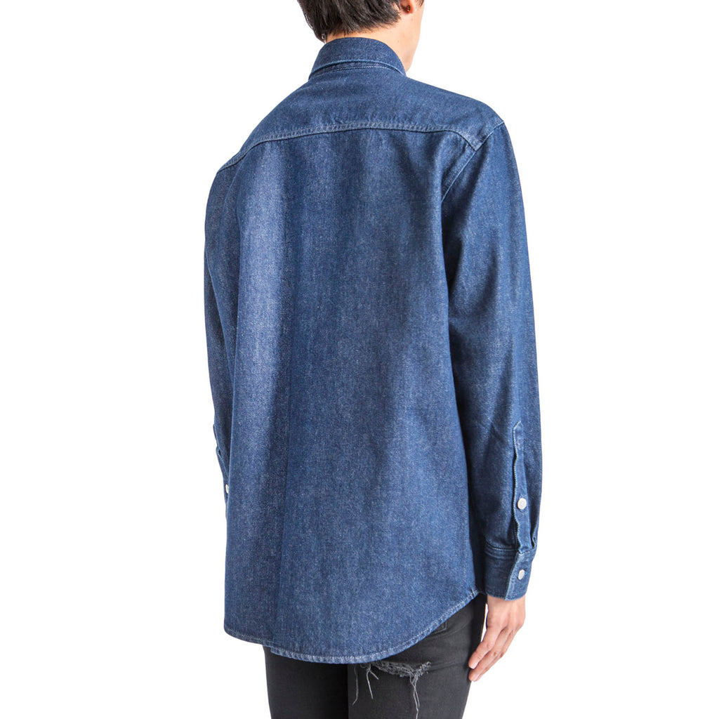 Raf Simons Carry Over Denim Shirt (Dark Navy)