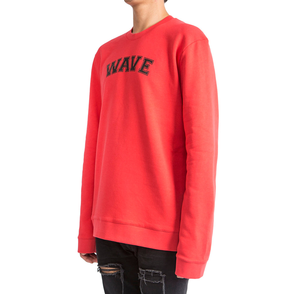 Raf Simons Wave Sweater (Red)