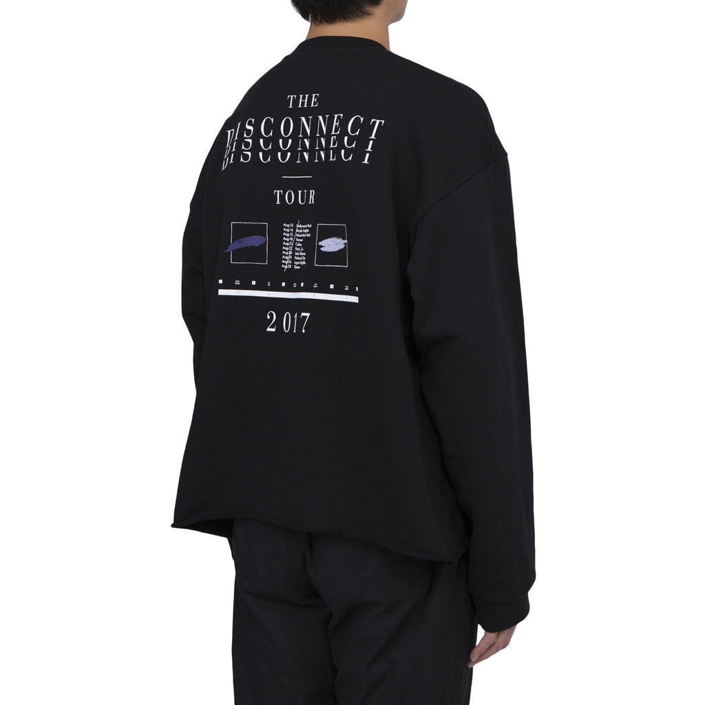 Second Layer Cropped Tour Pullover (Black)