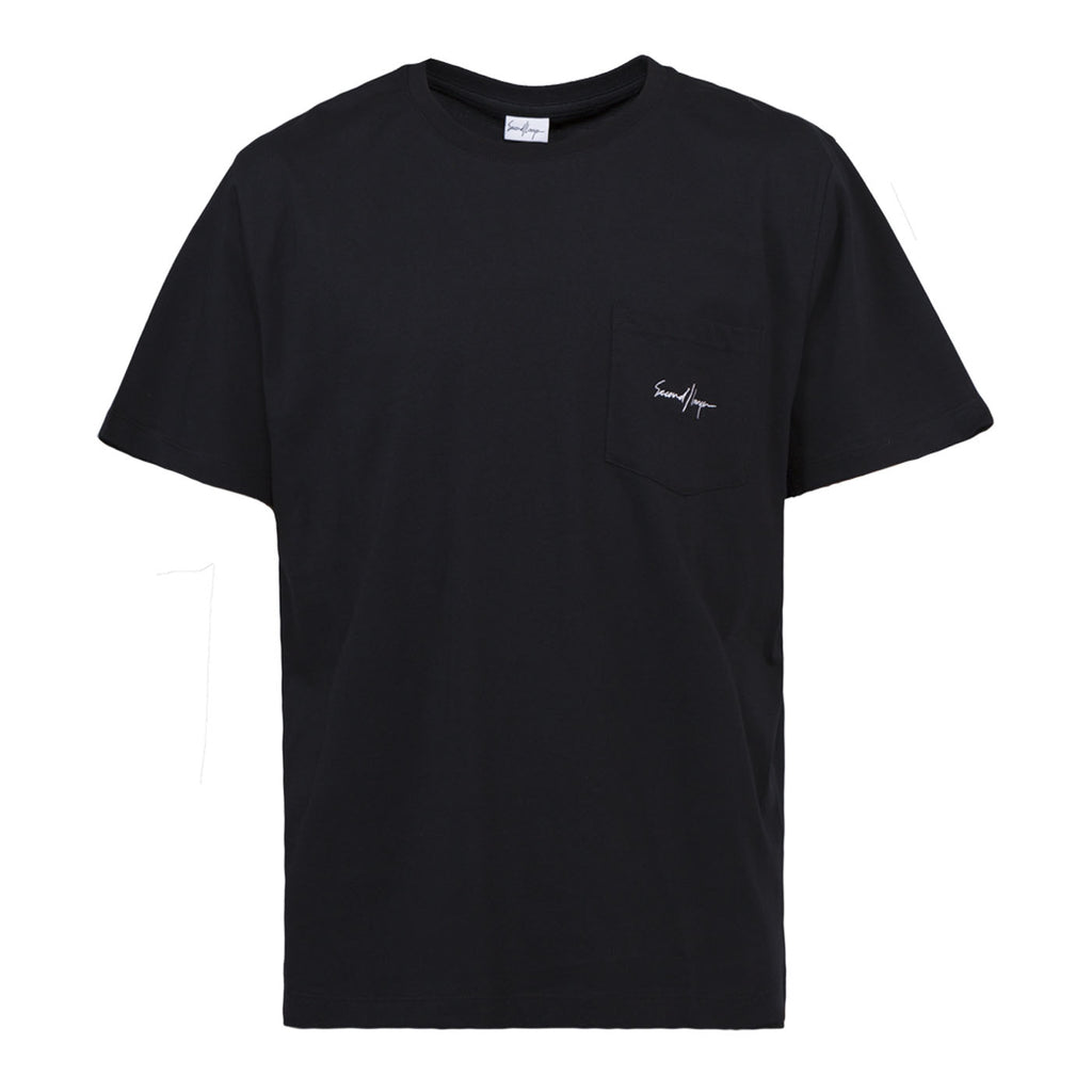 Second Layer Pocket T-Shirt (Black)