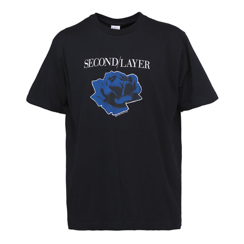 Second Layer Disconnected Tour T-shirt (Black)