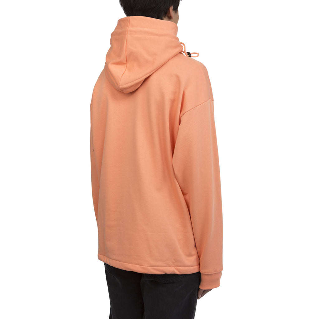 Martine Rose Triple Drawstring Hoodie (Peach)