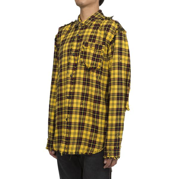 mastermind World Check Flannel, Yellow