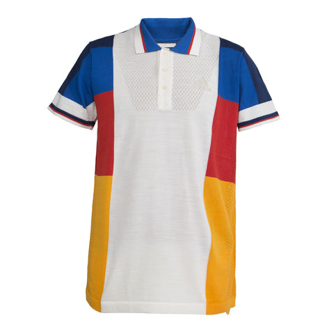 Adidas Tennis x Pharrell Williams NY Colorblock Polo LTD (White)