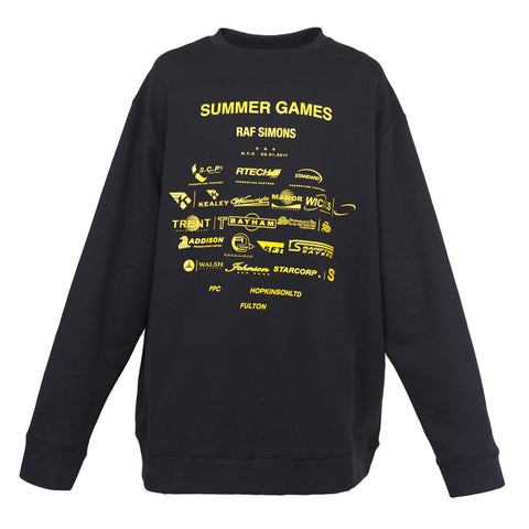 Raf Simons Summer Game Sweater (Black)