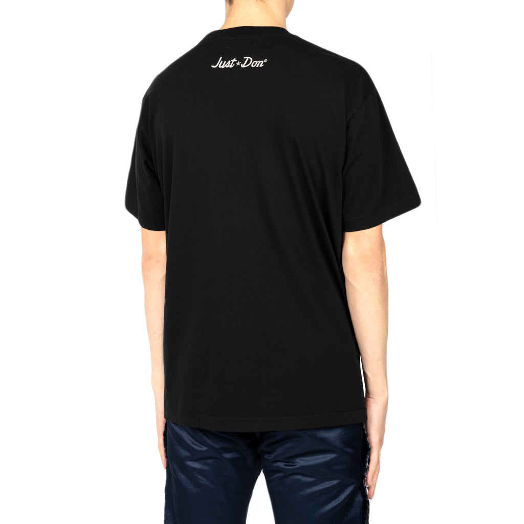 Just Don Electric Lightening S/S Crew Tee, Black