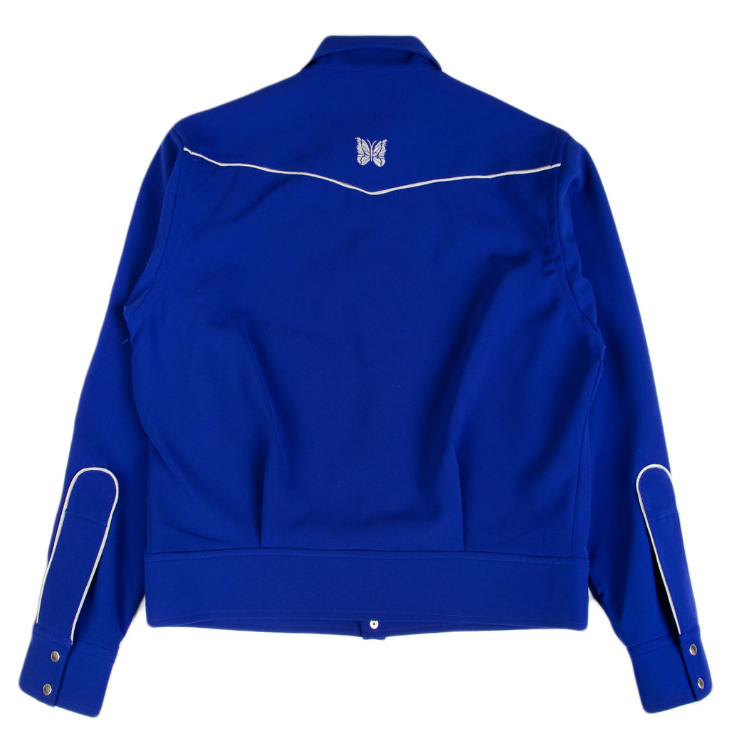 Needles SS21 Piping Cowboy Jacket, Royal
