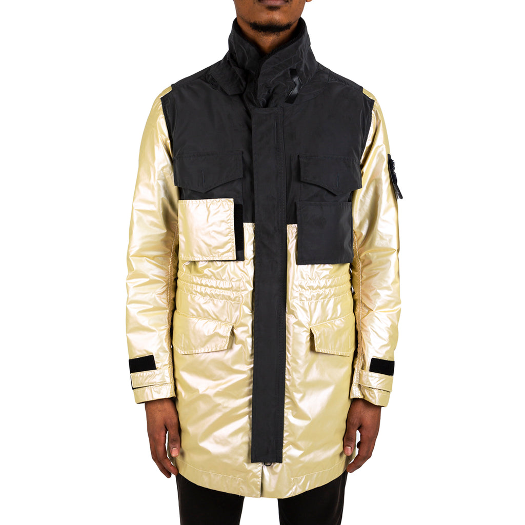 Stone Island Coat With Detachable Waistcoat