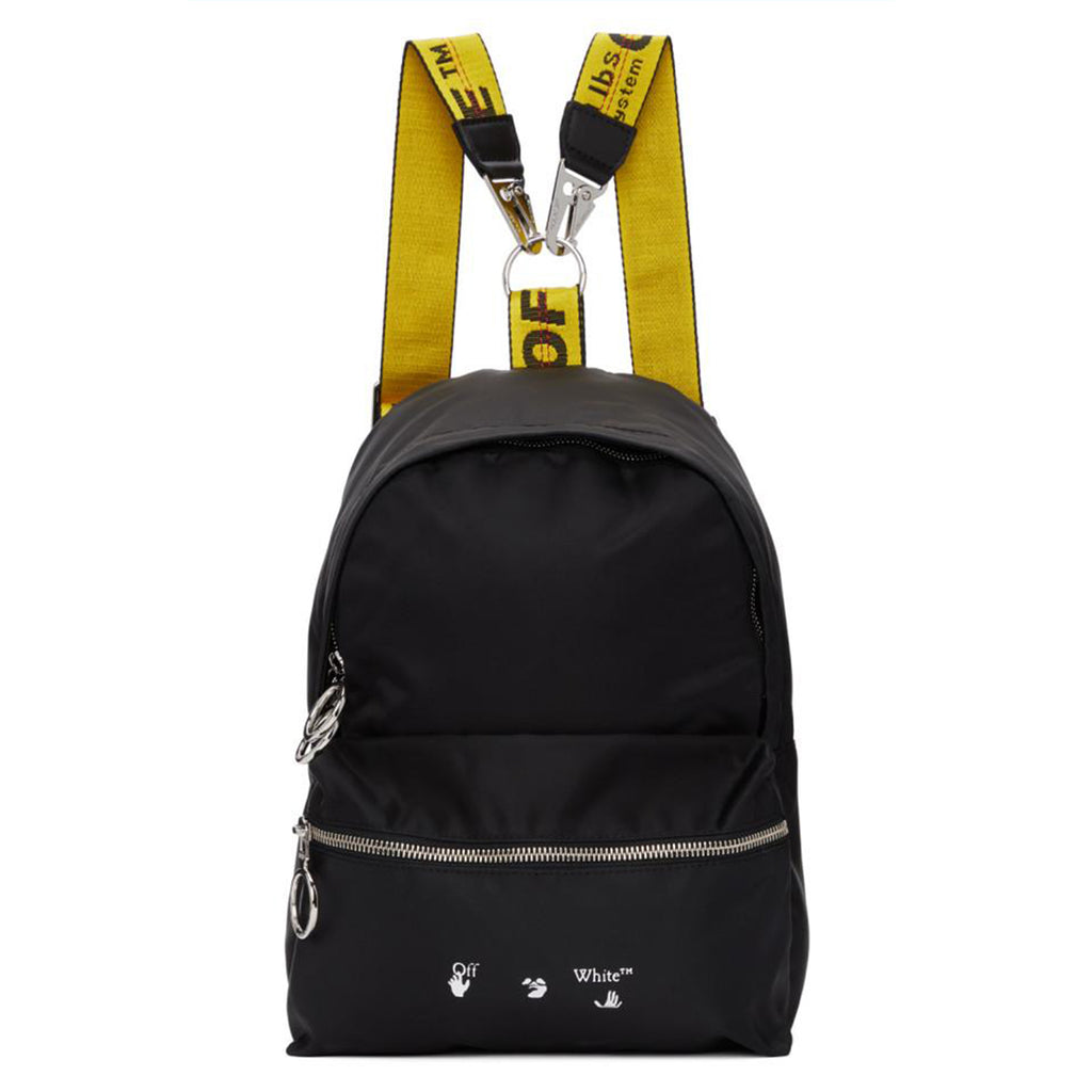 Off-White PS21 Nylon Mini Backpack, Black