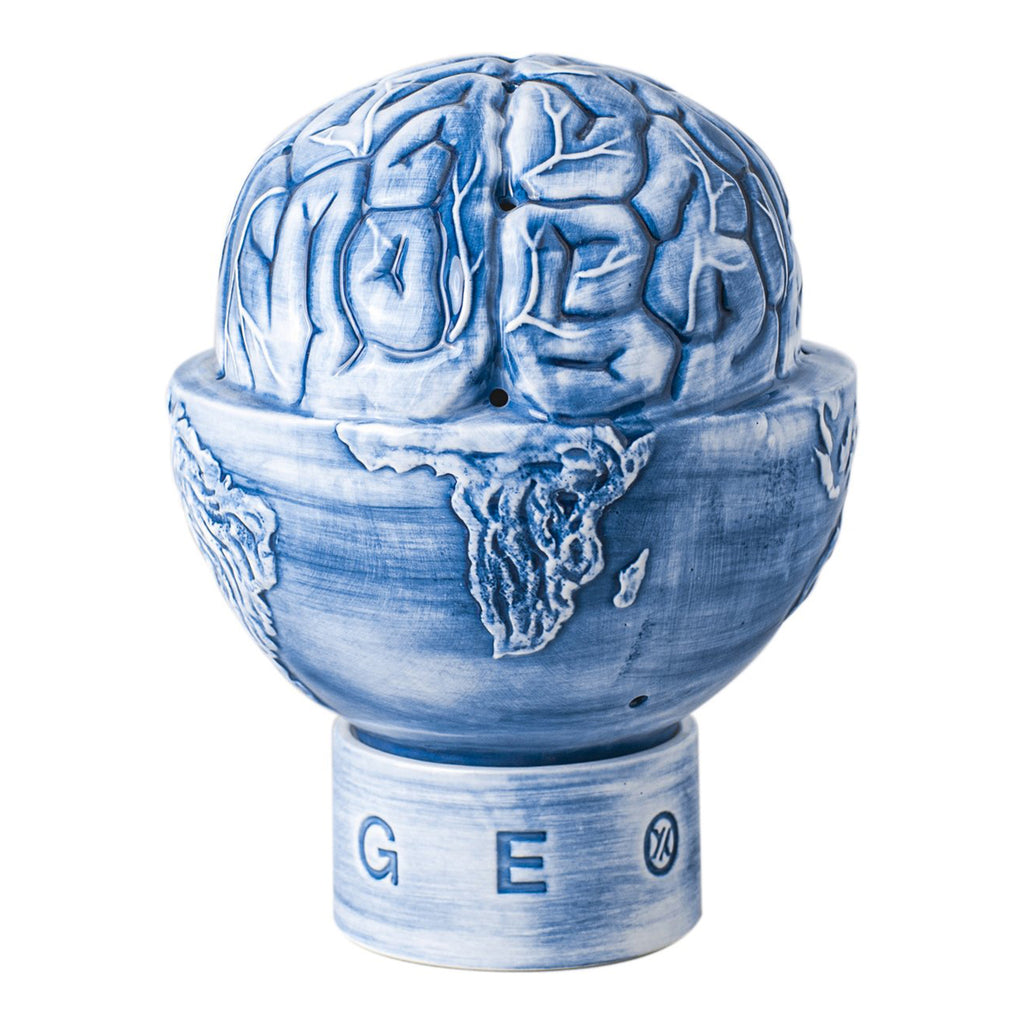 Yeenjoy x Geo Globe Brain Incense Burner, Blue