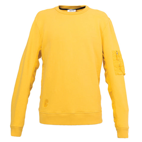 Tim Coppens MA-1 Patch Crewneck (Yellow)