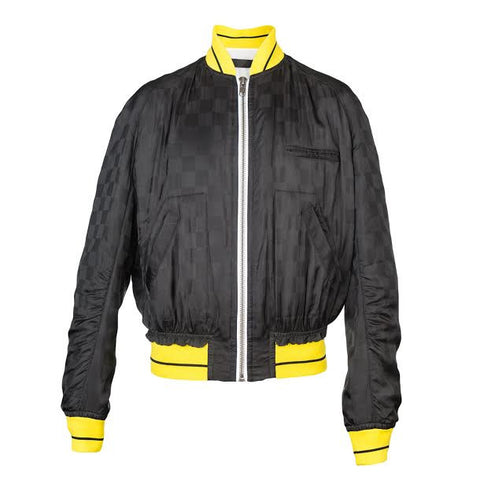 Haider Ackermann Dill Jacket (Black/Yellow)