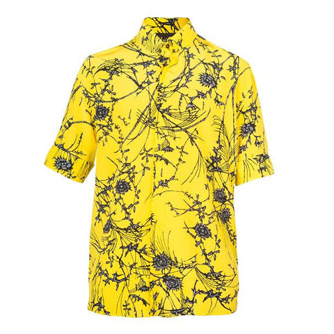Haider Ackermann Baryum Shirt  (Yellow)