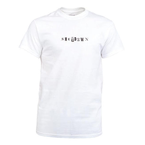 Skepta Shutdown Tee (White)