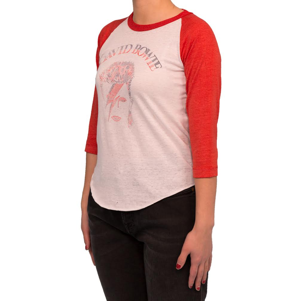Saint Luis David Bowie Tee (White/Red)