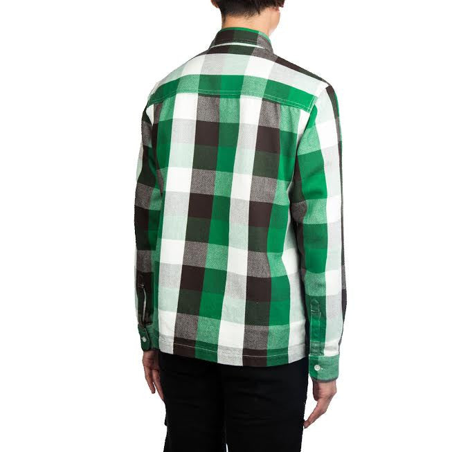 Human Made Check Shirt (Green)