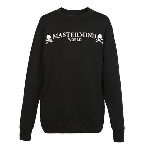 Mastermind World Zipper Sleeve Crewneck (Black)