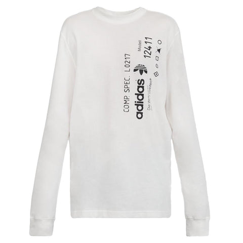 Adidas X Alexander Wang Graphic Long Sleeve (White)