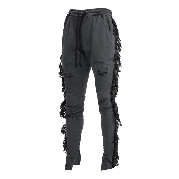 Alchemist KNOW U RIDER JOGGER LA FLAME (BACK EMBROIDERY) (Black)