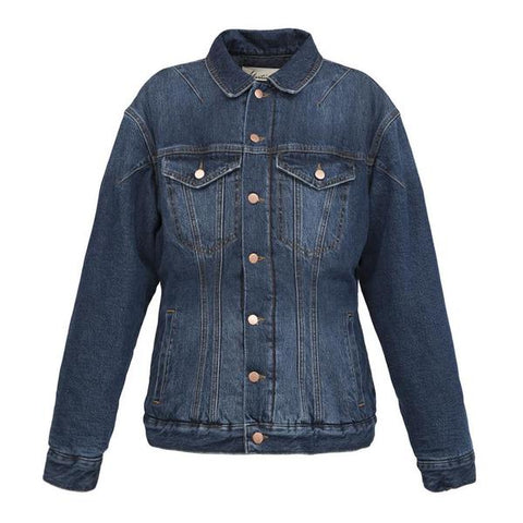 Martine Rose Denim Darted Jacket (Indigo)