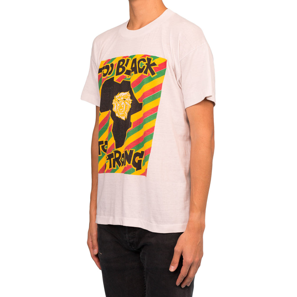 Saint Luis Black Too Strong Tee (White)