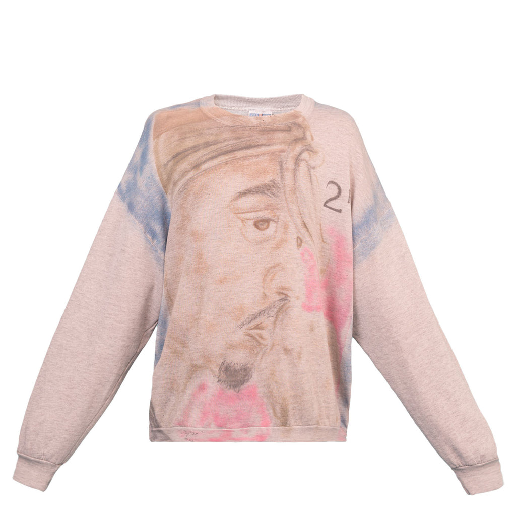 Saint Luis Tupac Sweatshirt (Grey)