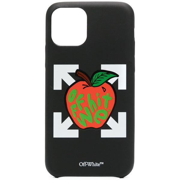 Off-White SS21 Apple iPhone Cover, Black/Red