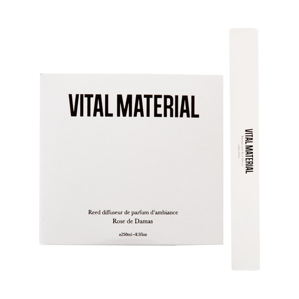 Vital Material Reed Diffuser, 250 mL Damask Rose
