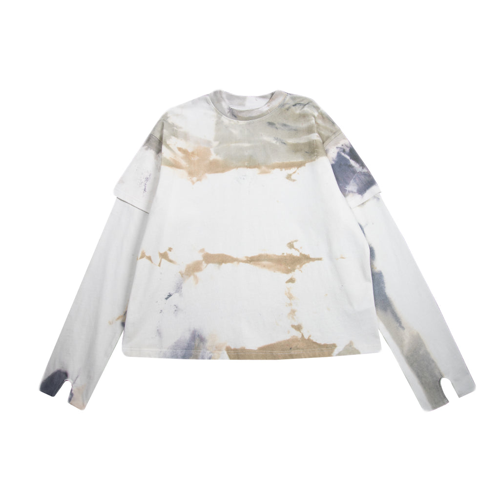 Who Decides War SS21 Arches L/S Shirt, Cloud