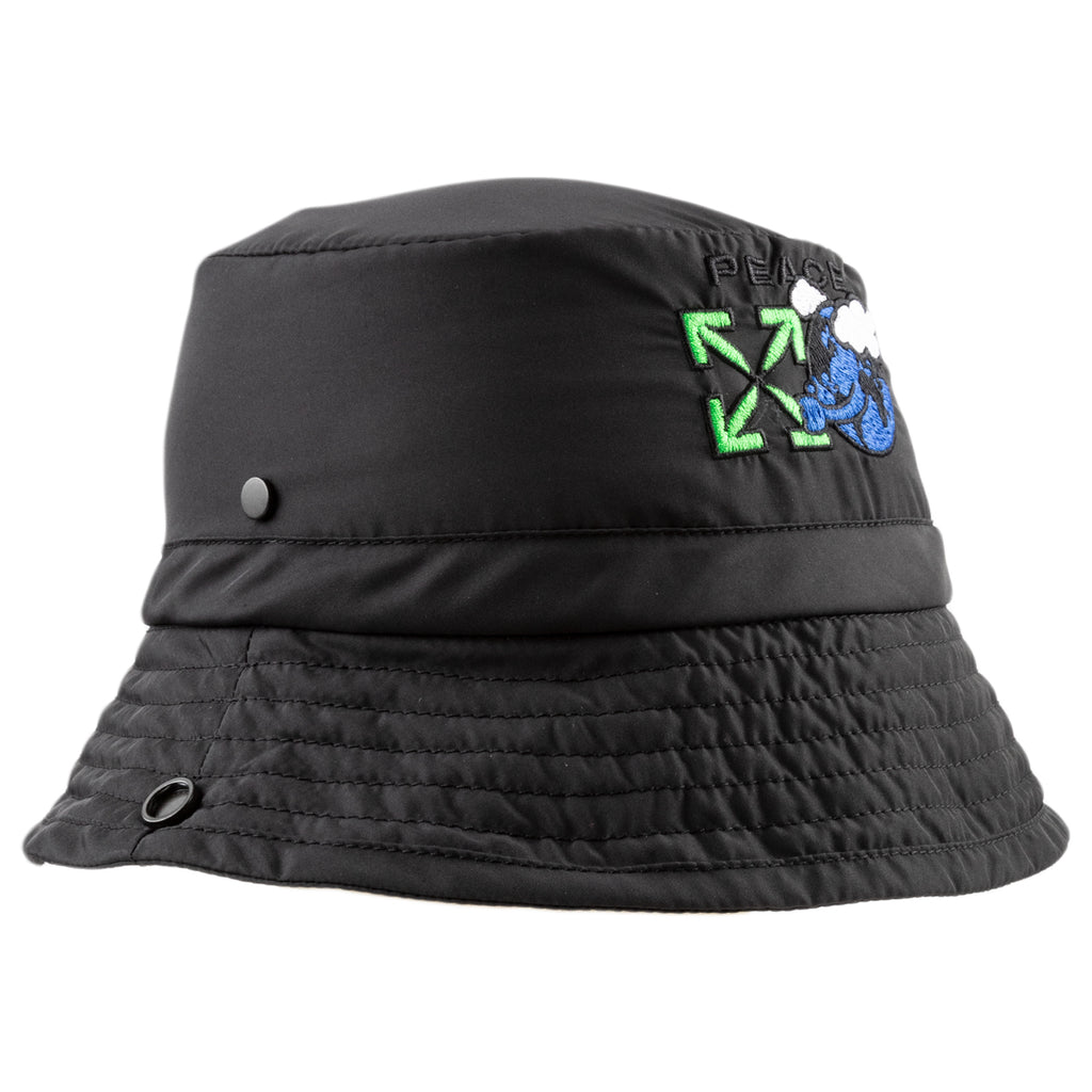 Off-White PS21 For The Nature Padd Treck Hat, Black/Green