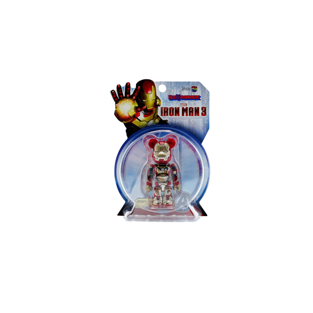 Medicom Be@rbrick Iron Man 100% (Damage Version)