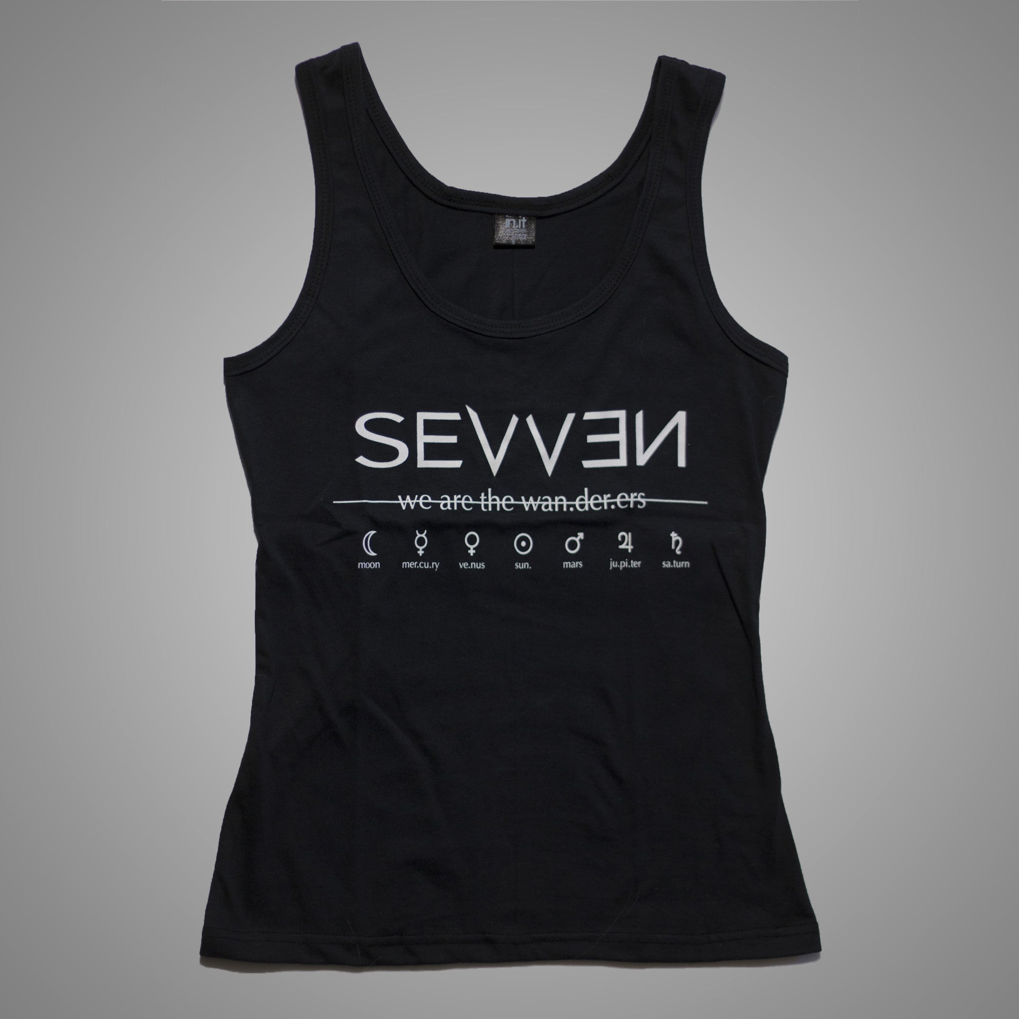 Wan.der.ers Ladies Tank Top - SEVVEN