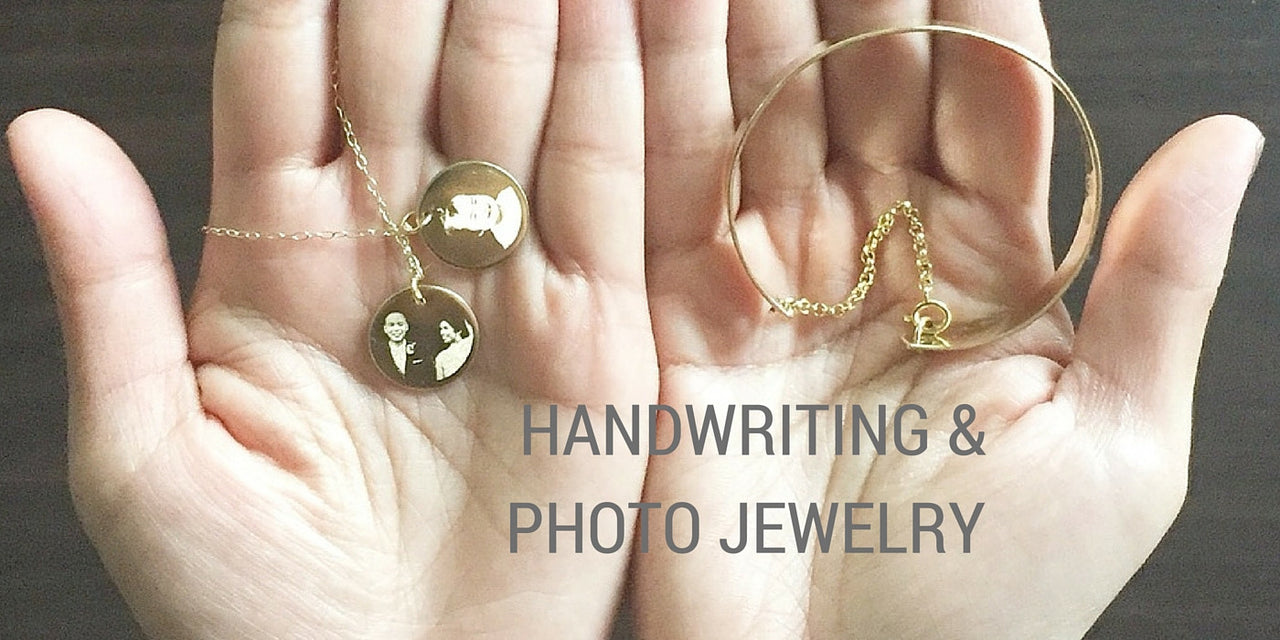 The Modern Bazaar's Handwriting Jewelry