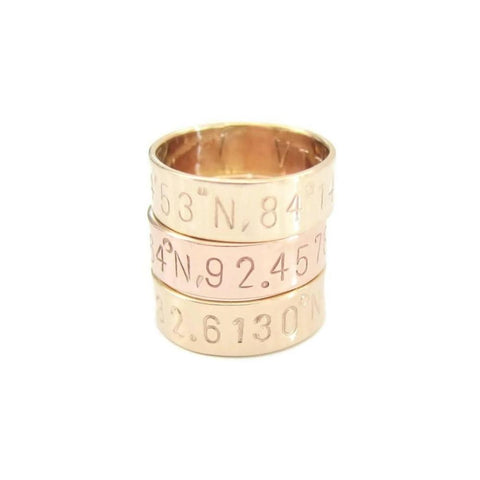 Coordinates Ring - as seen in GLAMOUR Magazine, Nov 2016 issue
