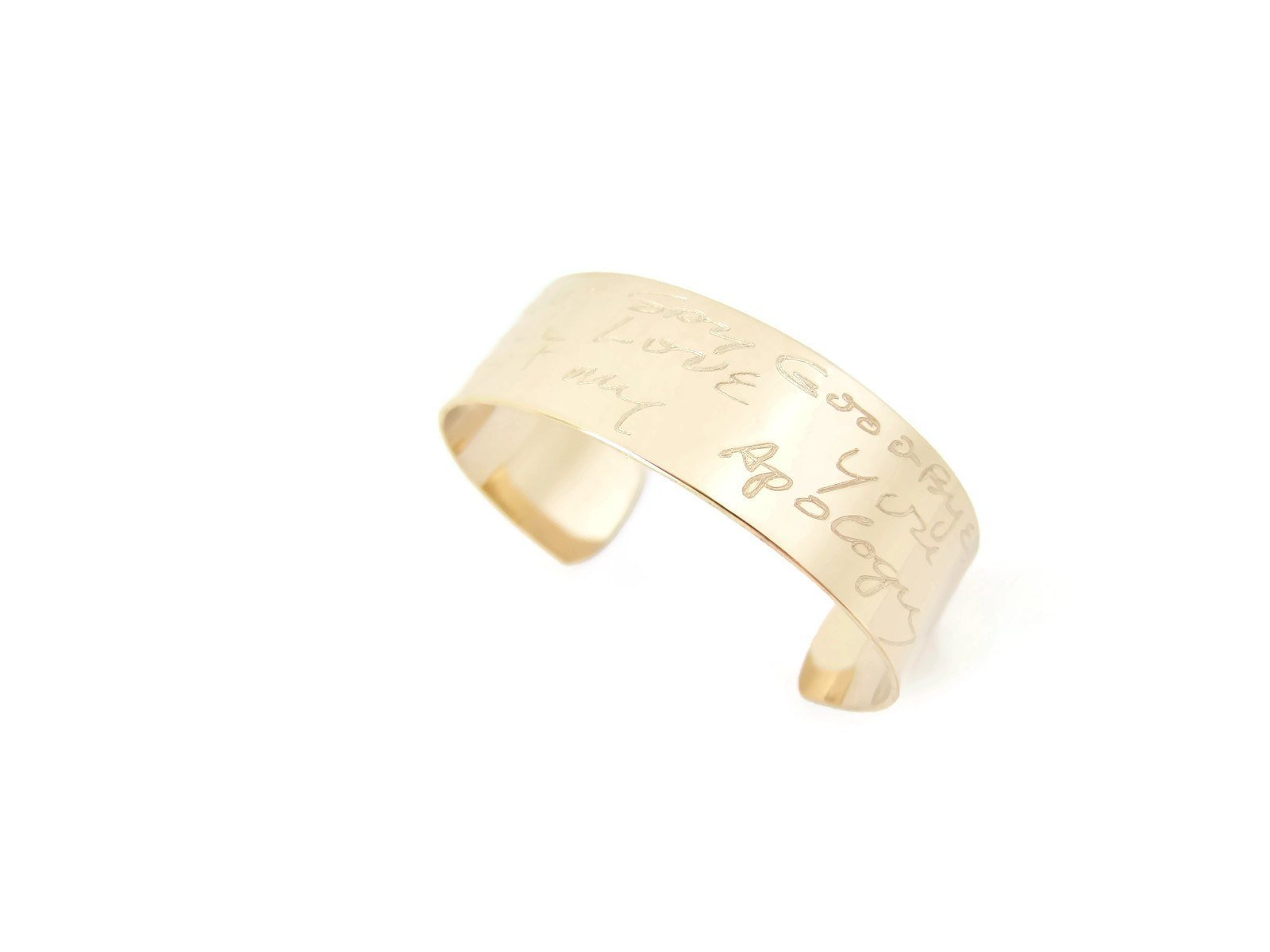 for copy lat wide cuff products bazaar gift her bracelet modern long of handwriting gold the