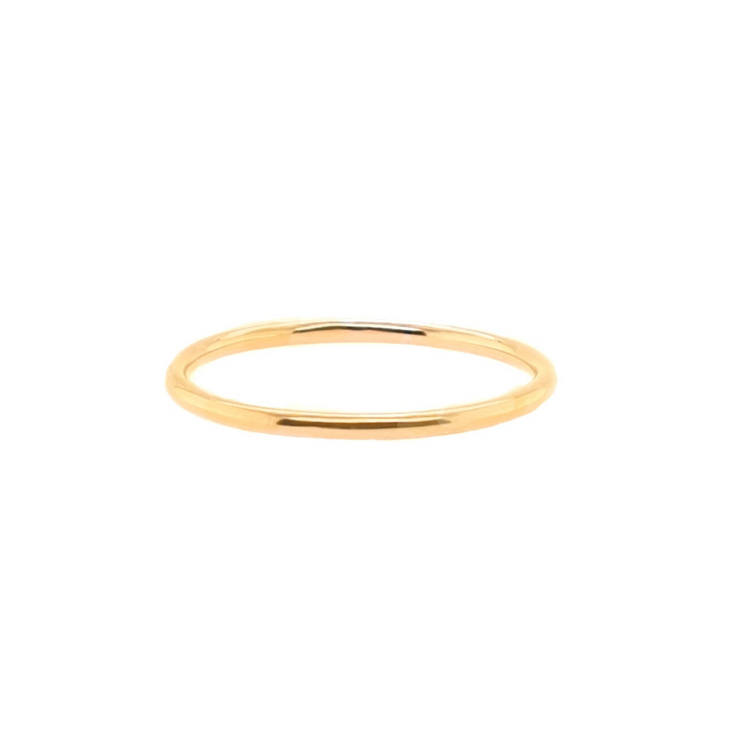 1 MM.  BAND RING