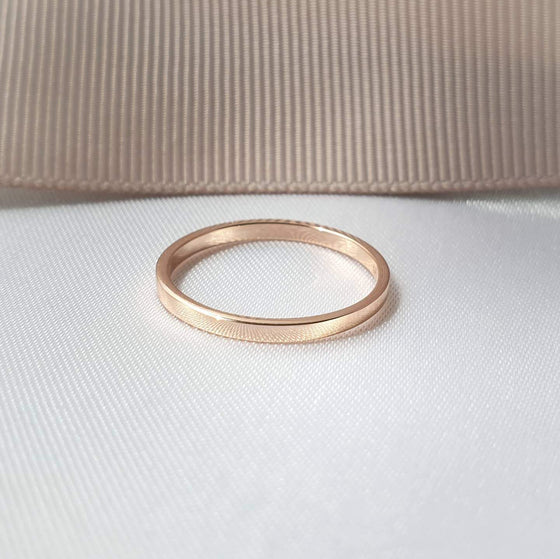 1.6 MM. FLAT BAND RING
