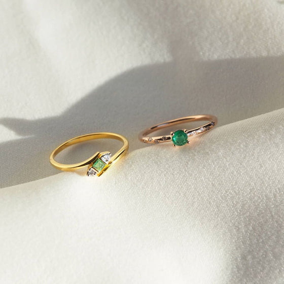 EMERALD×DIAMOND RING