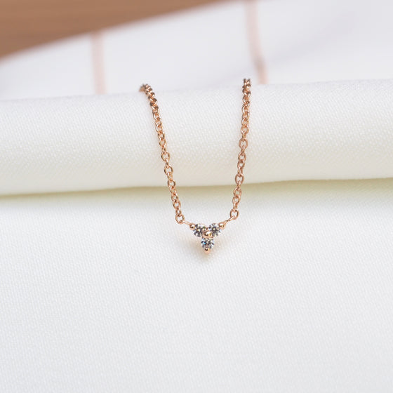 FLORA DIAMOND  NECKLACE