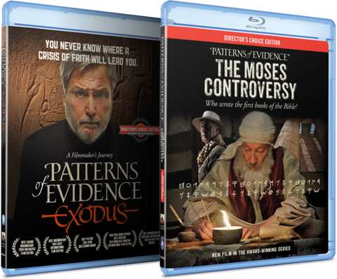The Exodus & Moses Controversy Blu-Ray Combo Pack