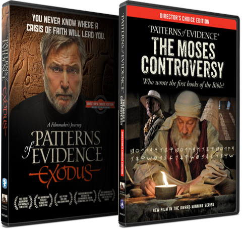 The Exodus & Moses Controversy DVD Combo Pack