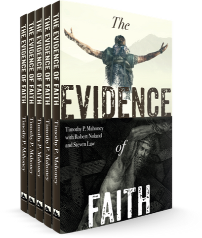 Evidence of Faith Paperback Book - 5 Pack