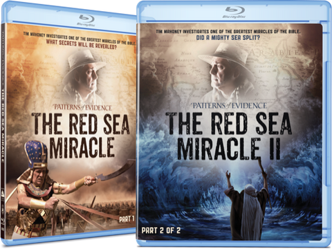 THE RED SEA MIRACLE 1 AND 2 BLU-RAY COMBO PACK