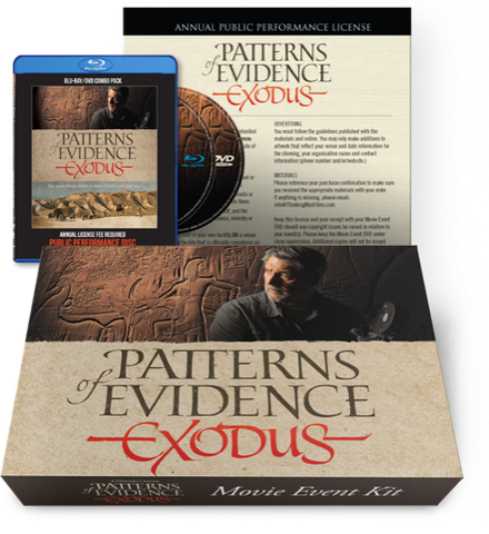 The Exodus DVD/Blu-ray - Movie Event Kit