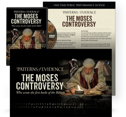 The Moses Controversy Digital - Movie Event Kit