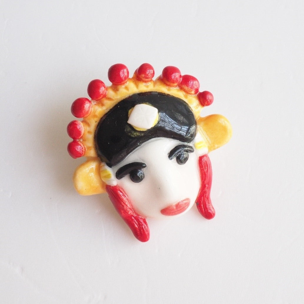 The Chinese Opera Male Pin
