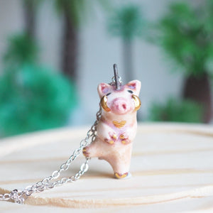 The Wild Pig Necklace