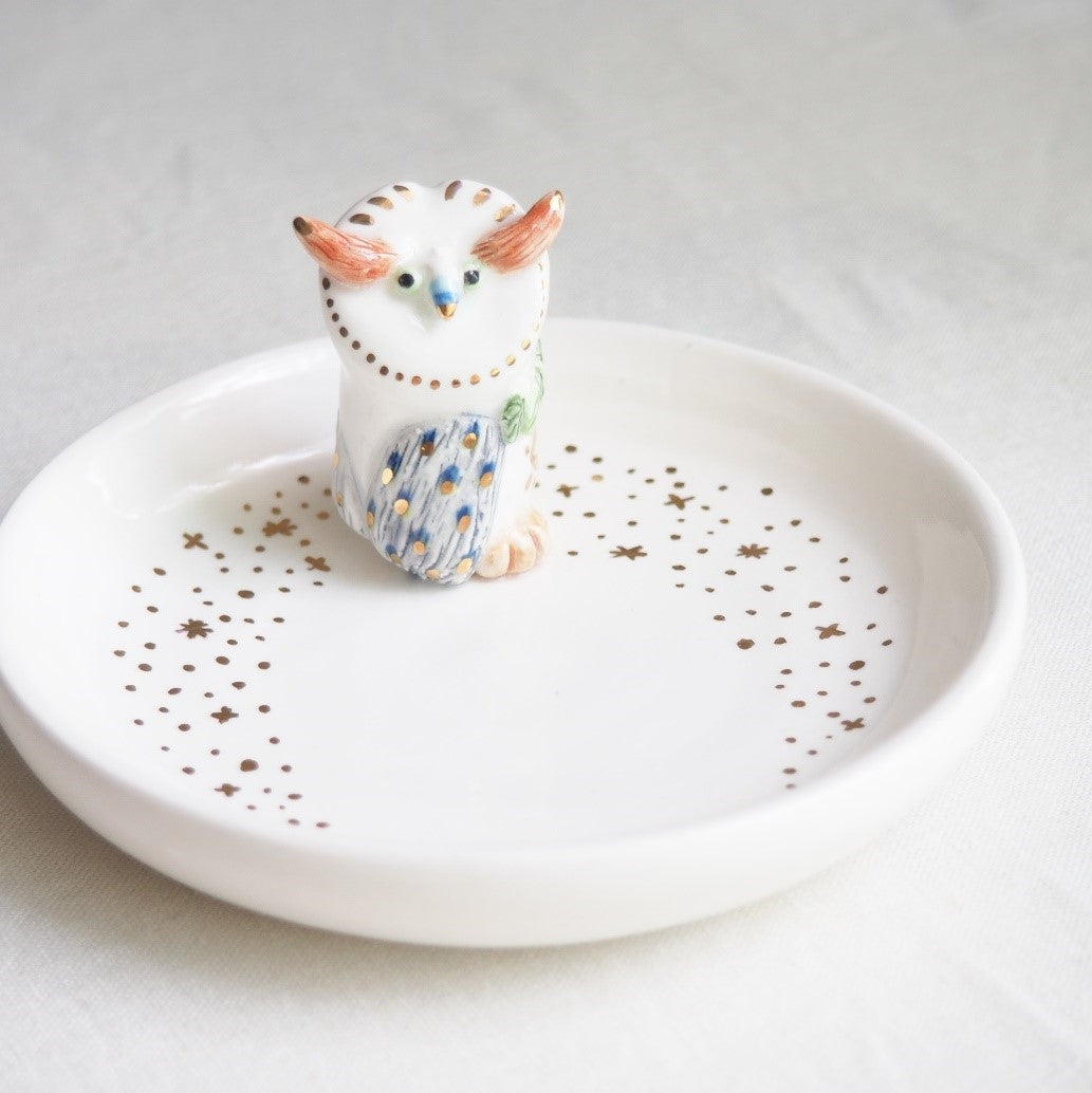 The mystery owl Jewelry Dish